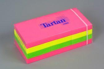 3M Tartan 05138-N Neon szívárványcsomag - neon színben - 12 tömb / csomag (3M 05138-N)
