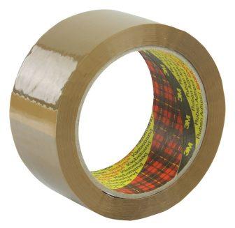 3M Scotch 371 öntapadó ragasztószalag általános használatra 50 mm x 66 m - havannabarna (Scotch 371 Buff)