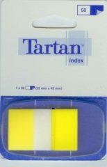 3M Tartan Index 6805-5EU standard jelölőcímke - sárga - 50 címke / bliszter