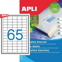 APLI 01209 öntapadós etikett címke