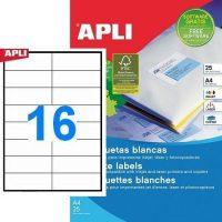 APLI 01214 öntapadós etikett címke