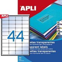APLI 01223 öntapadós etikett címke