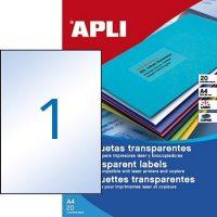 APLI 01225 öntapadós etikett címke