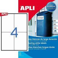 APLI 01227 öntapadós etikett címke