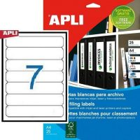 APLI 01232 öntapadós etikett címke