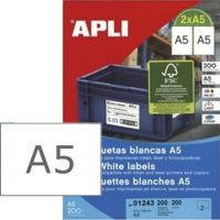APLI 01243 öntapadós etikett címke