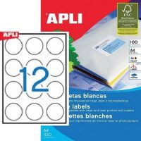 APLI 01244 öntapadós etikett címke