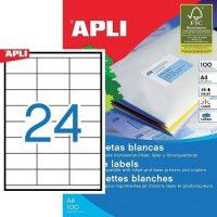 APLI 01272 öntapadós etikett címke