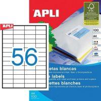APLI 01284 öntapadós etikett címke