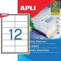 APLI 01288 öntapadós etikett címke