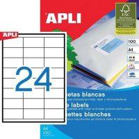 APLI 01298 öntapadós etikett címke