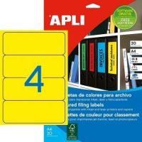 APLI 01374 öntapadós etikett címke