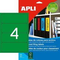APLI 01377 öntapadós etikett címke