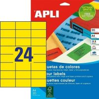 APLI 01591 öntapadós etikett címke