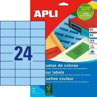 APLI 01592 öntapadós etikett címke