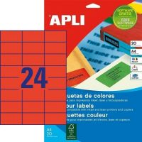 APLI 01593 öntapadós etikett címke