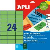 APLI 01594 öntapadós etikett címke