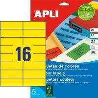 APLI 01595 öntapadós etikett címke
