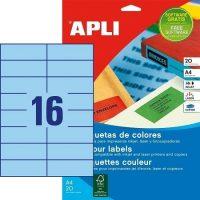 APLI 01596 öntapadós etikett címke