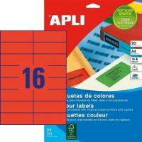 APLI 01597 öntapadós etikett címke
