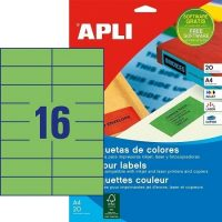 APLI 01598 öntapadós etikett címke