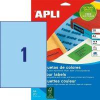 APLI 01600 öntapadós etikett címke