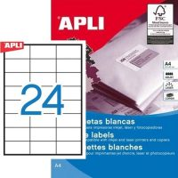 APLI 01783 öntapadós etikett címke