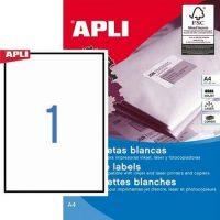 APLI 01788 öntapadós etikett címke