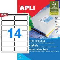 APLI 02419 öntapadós etikett címke