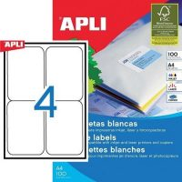 APLI 02422 öntapadós etikett címke