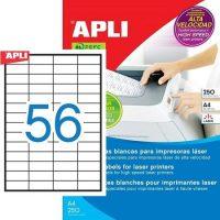 APLI 02517 öntapadós etikett címke