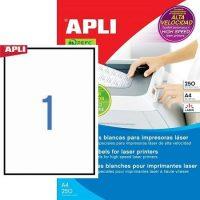 APLI 02530 öntapadós etikett címke