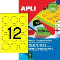 APLI 02866 öntapadós etikett címke