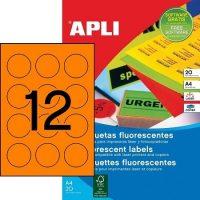 APLI 02867 öntapadós etikett címke