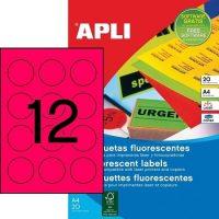 APLI 02868 öntapadós etikett címke