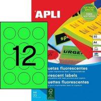 APLI 02869 öntapadós etikett címke