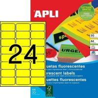 APLI 02870 öntapadós etikett címke