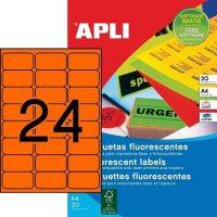 APLI 02871 öntapadós etikett címke