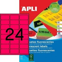 APLI 02872 öntapadós etikett címke