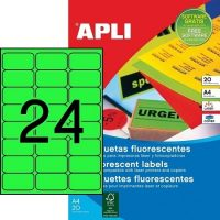 APLI 02873 öntapadós etikett címke