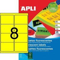 APLI 02874 öntapadós etikett címke
