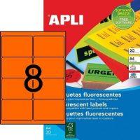 APLI 02875 öntapadós etikett címke