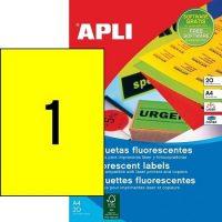 APLI 02878 öntapadós etikett címke
