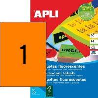 APLI 02879 öntapadós etikett címke