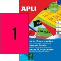 APLI 02880 öntapadós etikett címke