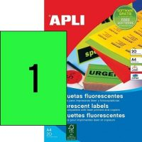 APLI 02881 öntapadós etikett címke