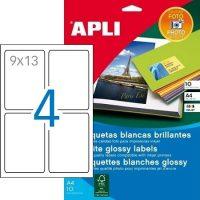 APLI 02922 öntapadós etikett címke
