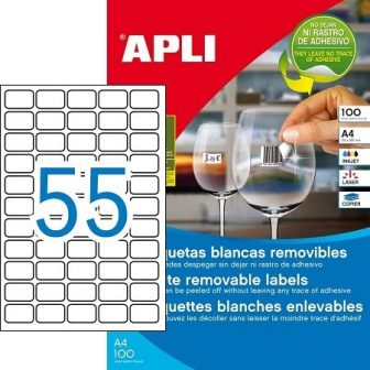 APLI 03051 öntapadós etikett címke