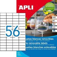 APLI 03055 öntapadós etikett címke