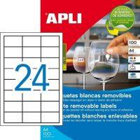 APLI 03056 öntapadós etikett címke